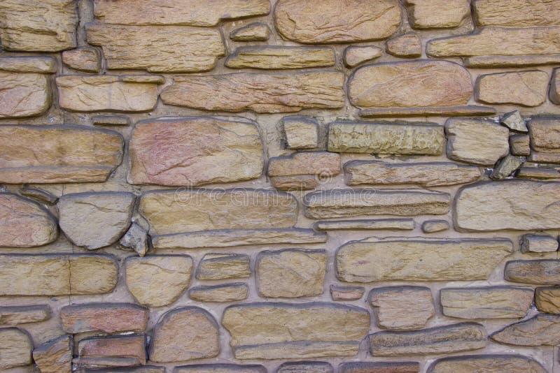 Естественная каменная стена стоковая фотография