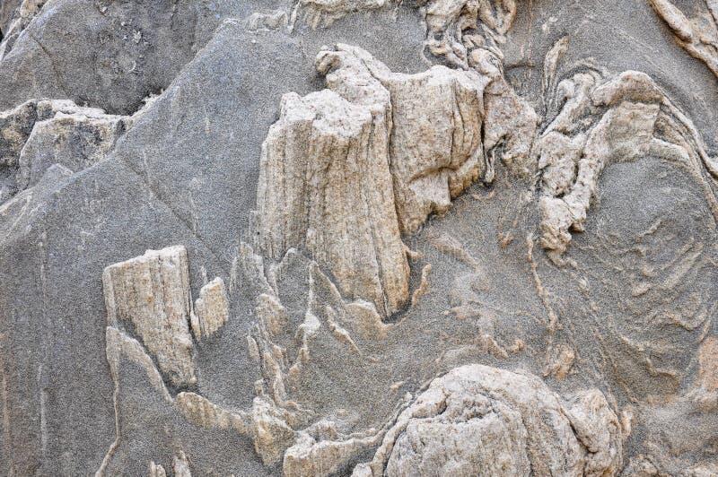 Естественная каменная текстура в горах стоковое фото