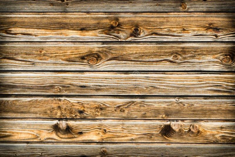 Естественная коричневая стена древесины амбара Деревянная текстурированная картина предпосылки стоковые изображения