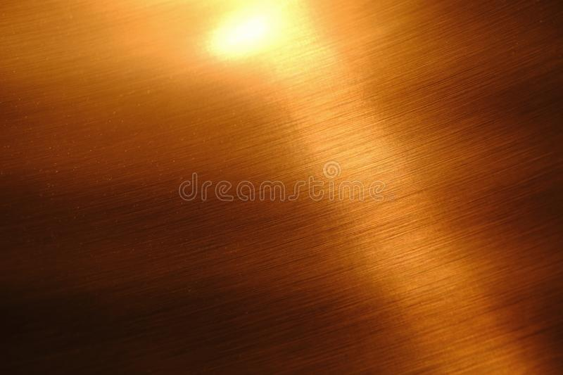 Естественная мягкая медная текстура металла стоковая фотография rf