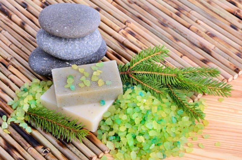 Естественная обработка ванны стоковые фото