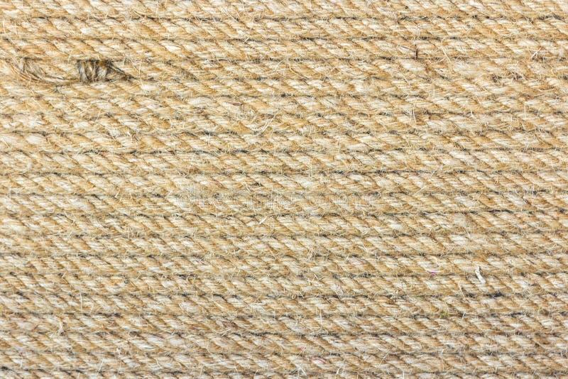 Естественная предпосылка веревочки стоковая фотография rf