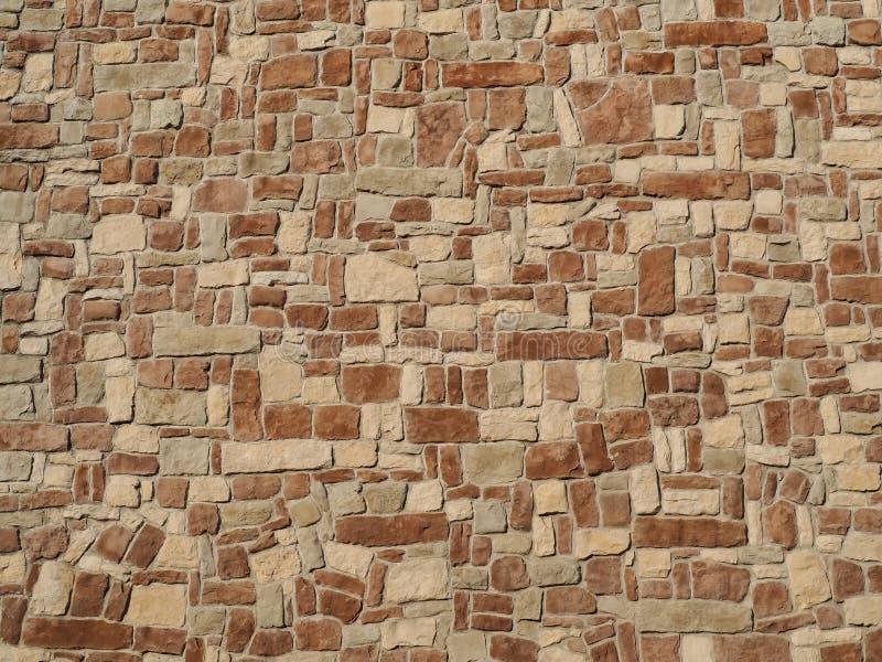 Естественная текстура стены камней сделанная скачками формы трясет стоковые изображения rf