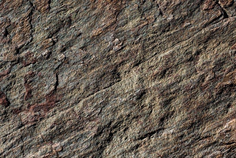 Естественная текстурированная красочная текстура предпосылки утеса гранита стоковая фотография rf