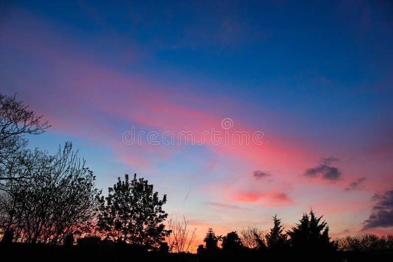 Естественное небо фантазии стоковые изображения