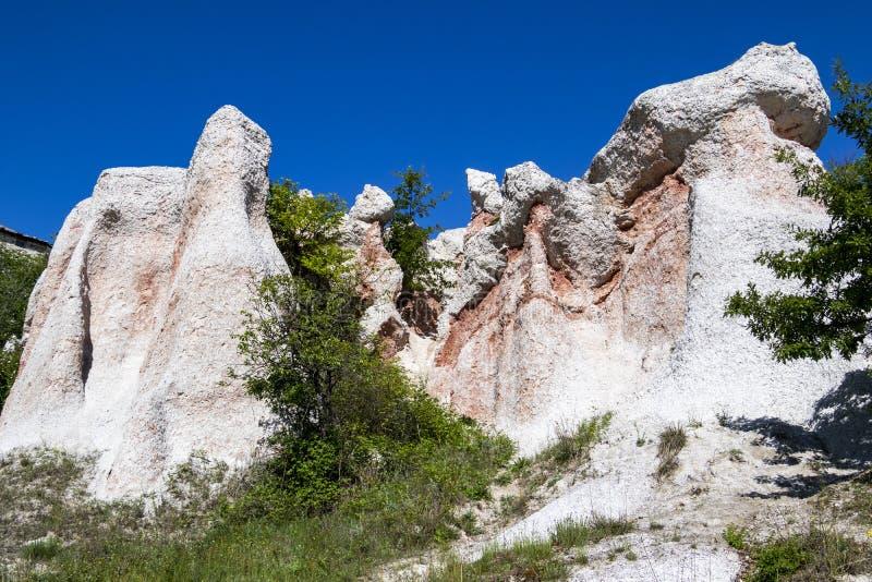 Естественное явление каменная свадьба, Zimzelen, Болгария стоковая фотография