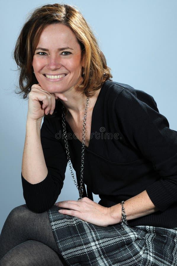 Естественно женщина стоковая фотография rf