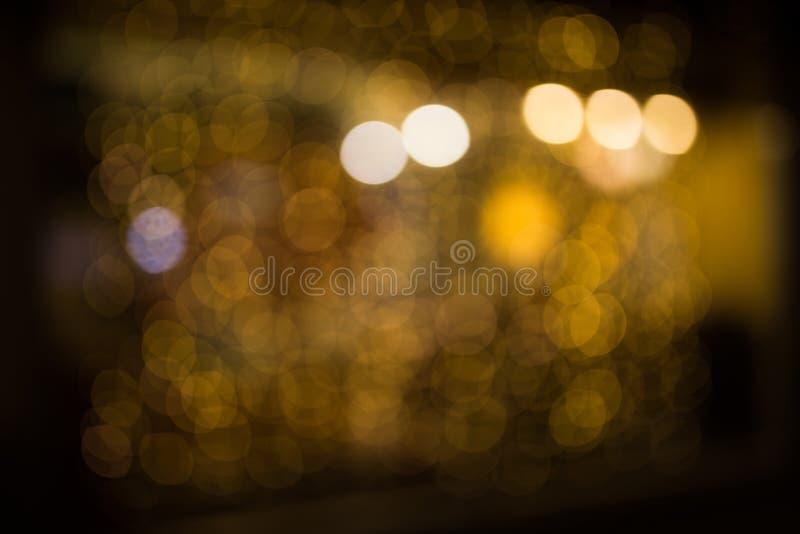 Естественно запачканное фото светов стоковое фото