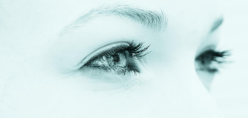 Естественные глаза стоковые фото