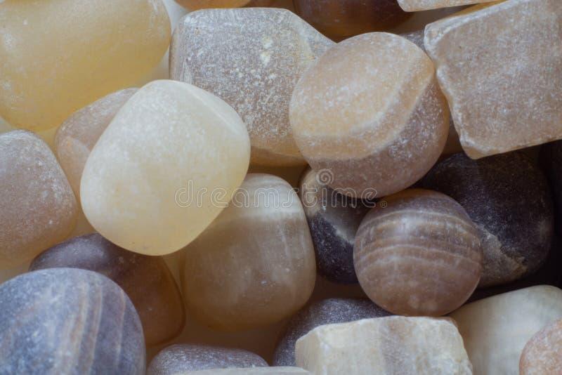 Естественные небольшие части макроса агата стоковое фото