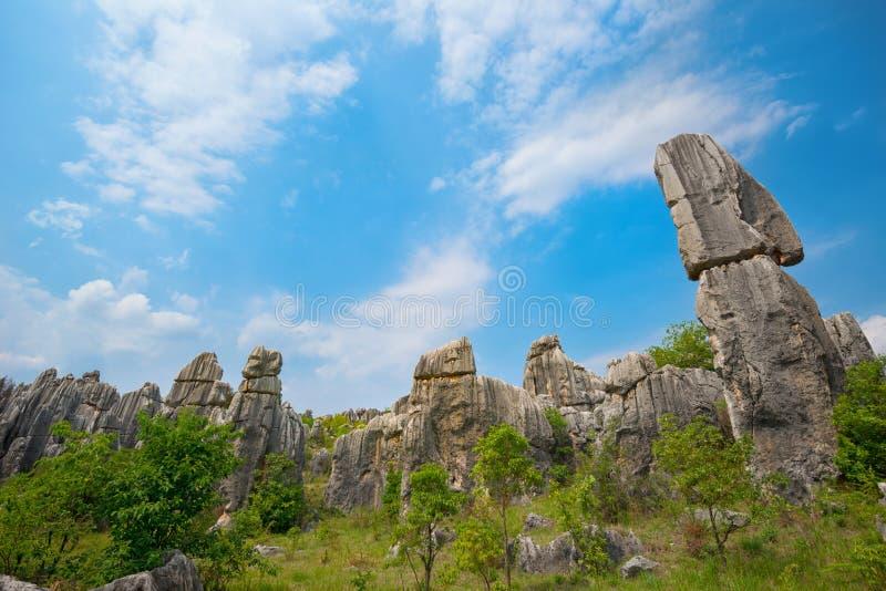 Естественный ландшафт Китая стоковое изображение