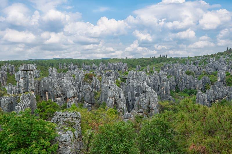 Естественный ландшафт Китая стоковые изображения