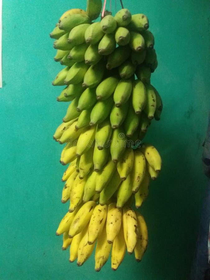 Естественный банан стоковая фотография rf