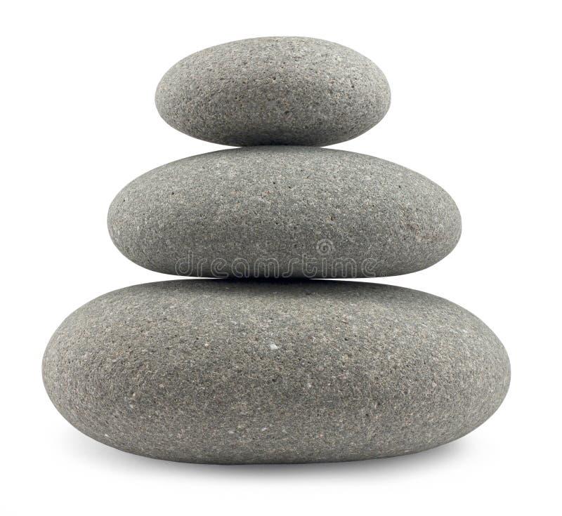 Естественный балансировать камней стоковое изображение
