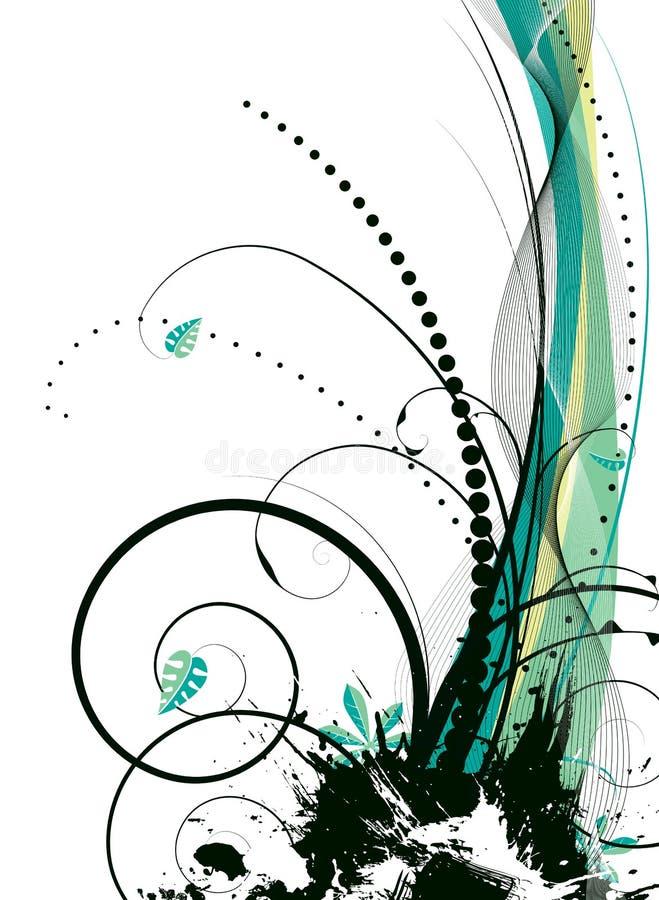 естественный брызг иллюстрация штока
