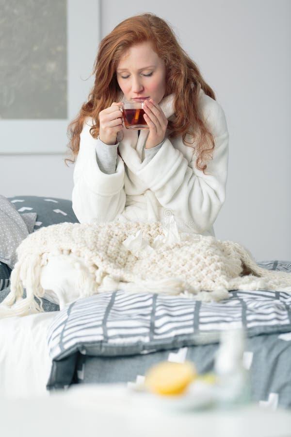 Естественный грипп и холодные выходы стоковые фото