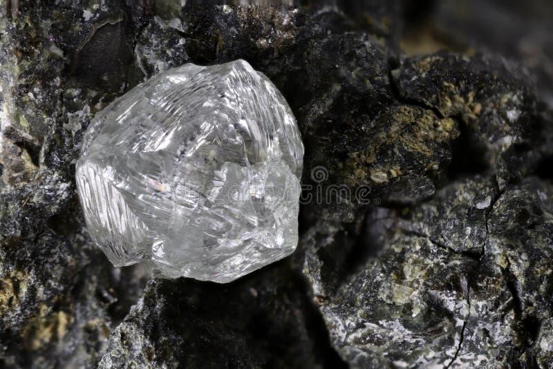 Естественный диамант стоковое изображение rf