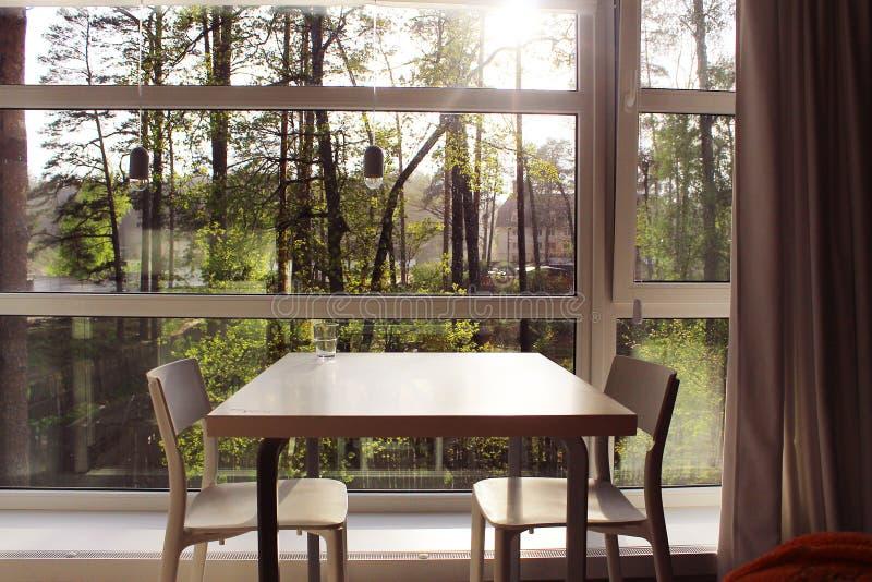 Естественный интерьер countryhouse стоковое фото rf
