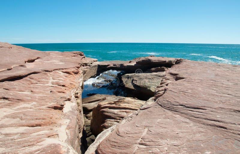 Естественный мост песчаника стоковые фото