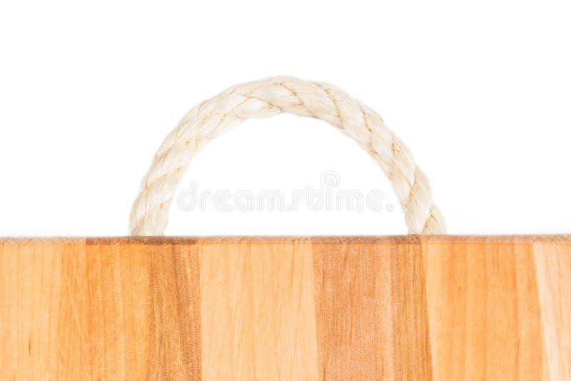 детализируйте вал Картина тимберса светлая естественная Деревянная предпосылка зерна Разделочная доска ручки веревочки деревянная стоковые изображения rf