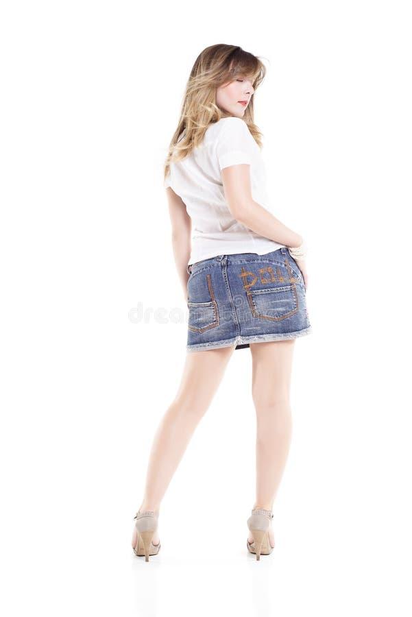 детеныши модной женщины стоковые фото