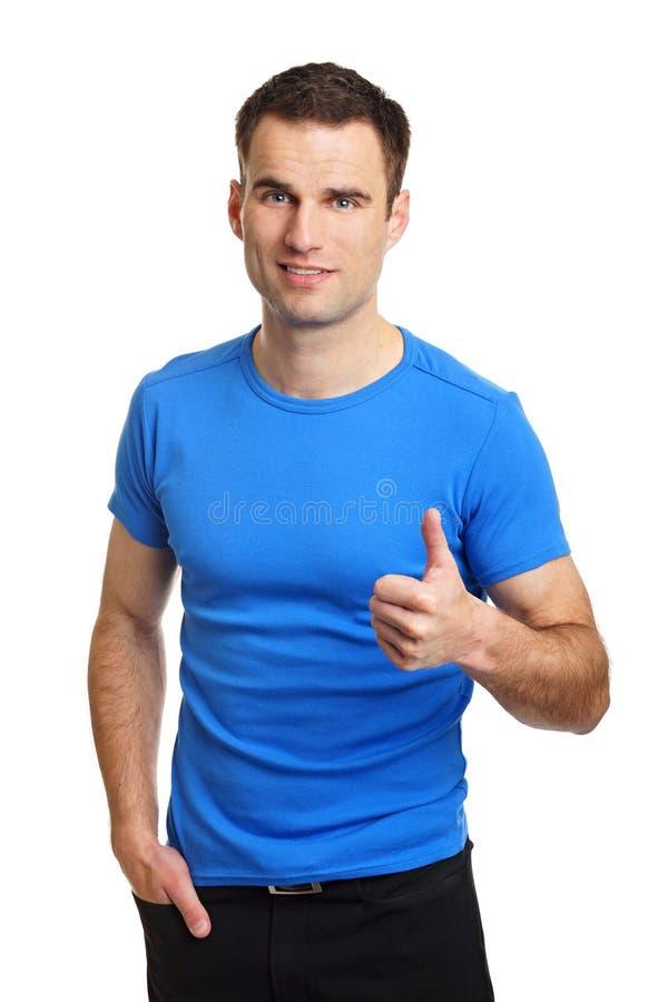детеныши рубашки человека белые стоковая фотография rf