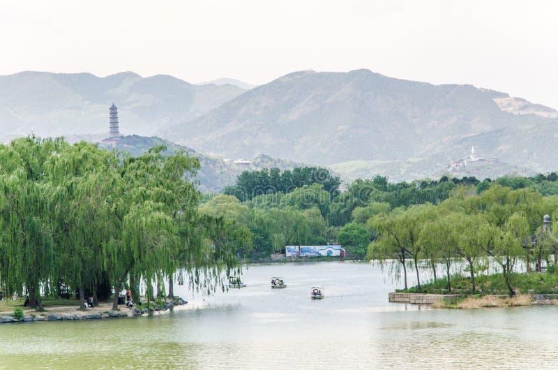 лето дворца Пекин стоковое фото rf