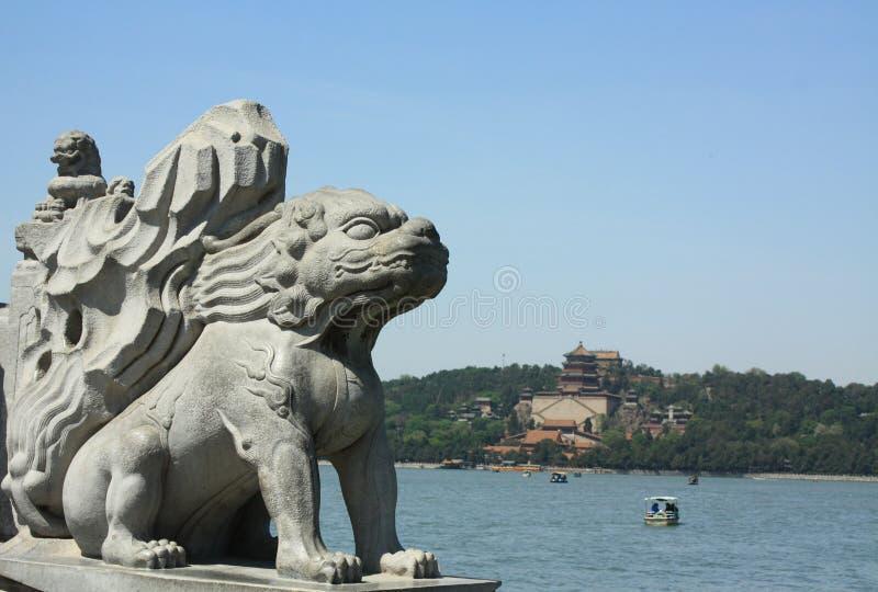 лето дворца Пекин стоковые изображения rf