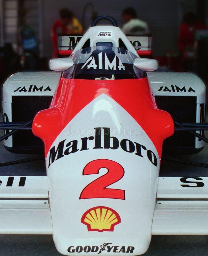 30 лет дальше - McLaren MP4, 1985 австралийца Grand Prix стоковые изображения