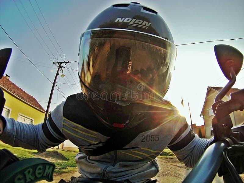 Ехать мотоцикл стоковые изображения