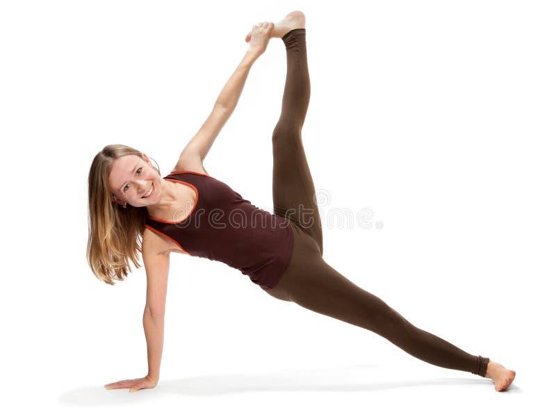 делать детенышей йоги женщины стоковые изображения