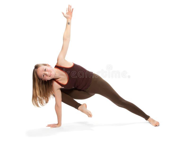 делать детенышей йоги женщины стоковая фотография