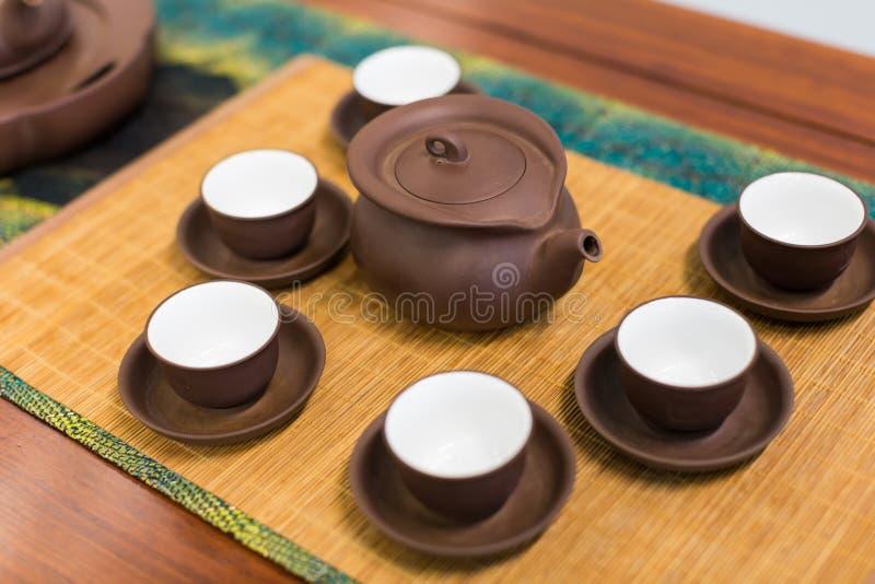 делать установленный чай стоковое изображение rf