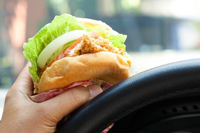 еда гамбургера стоковые изображения