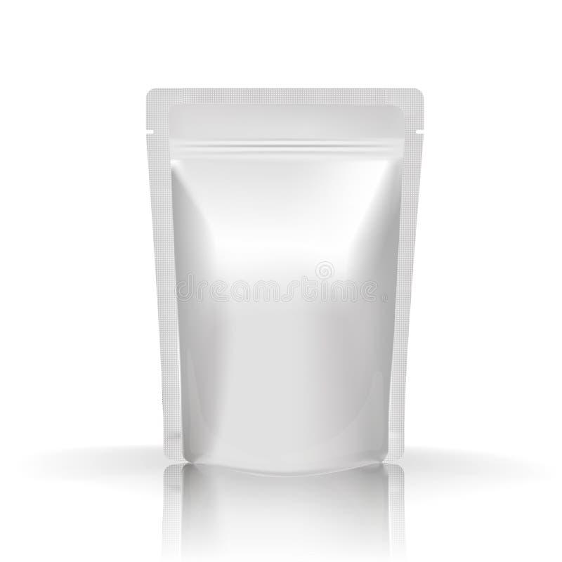 Еда или питье фольги модель-макета пустые стоковое изображение rf