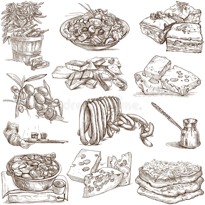 Еда и пить 4 стоковое фото