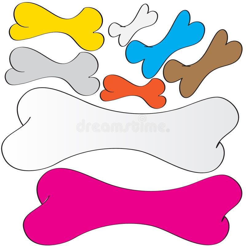 Еда косточек собаки стоковое изображение rf