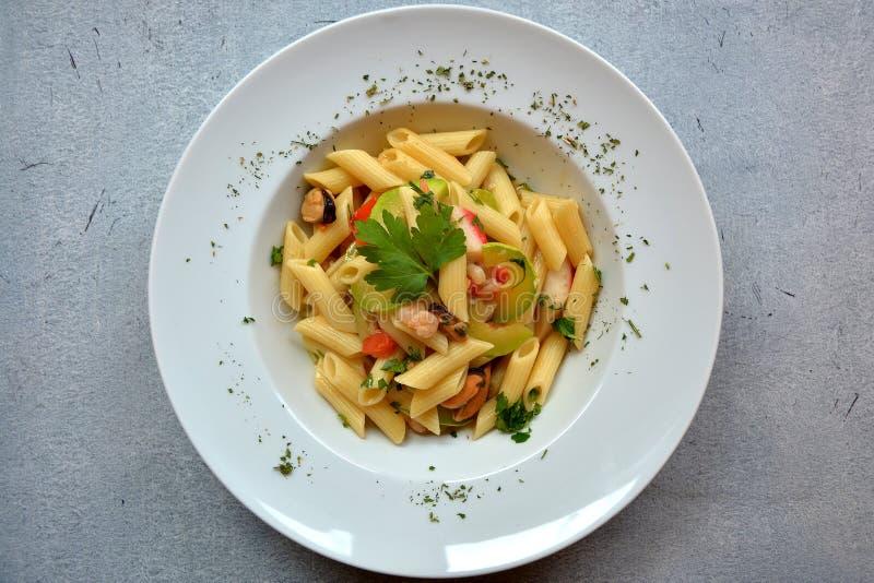 Еда макаронных изделий стоковая фотография rf