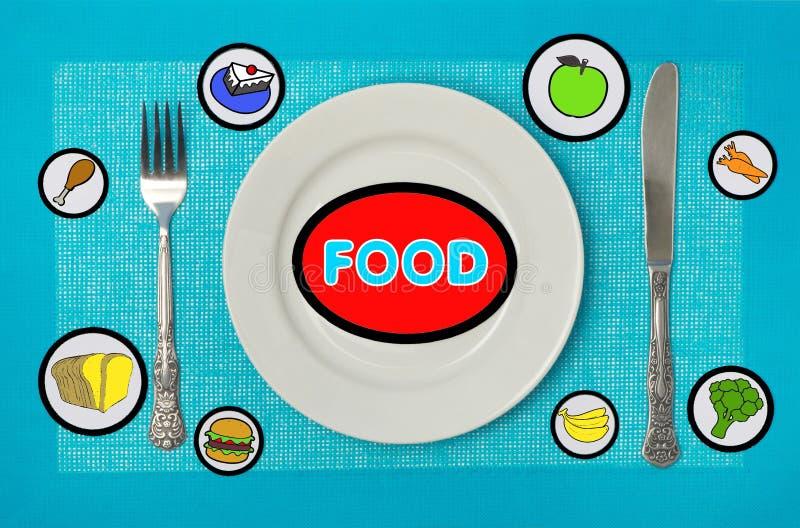 Еда на таблице стоковые фотографии rf