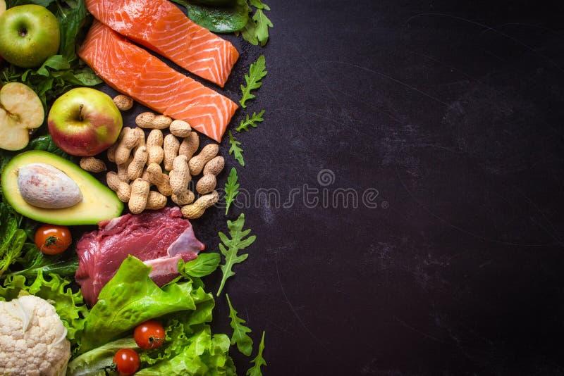 еда принципиальной схемы здоровая стоковое фото