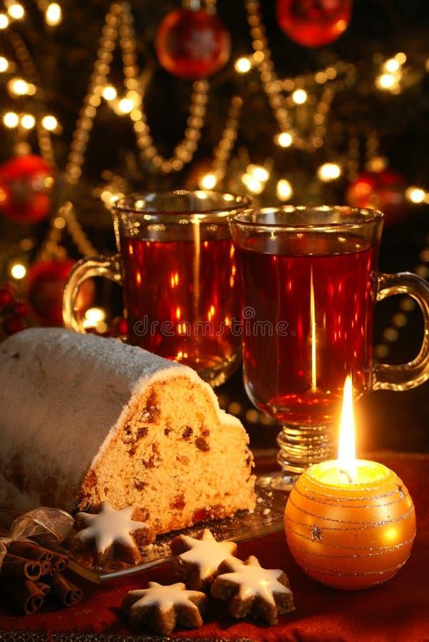 Еда рождества стоковые изображения rf