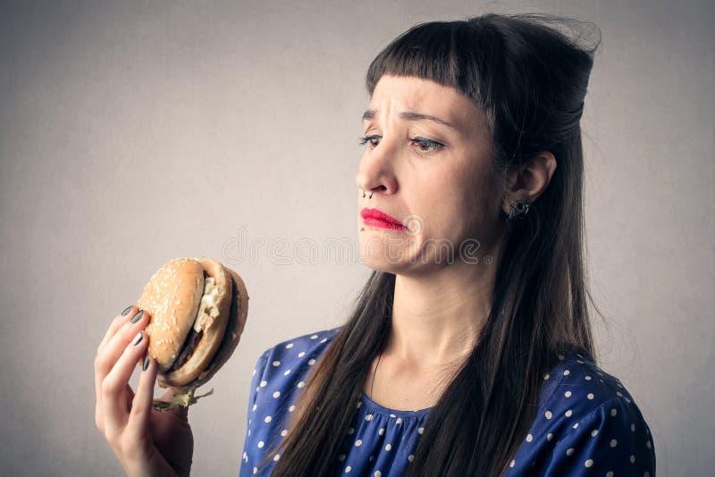 Еда с головой стоковое изображение rf