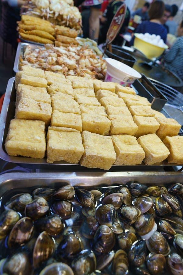 Еда улицы Тайваня стоковое фото
