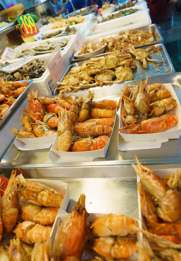 Еда улицы Тайваня стоковые фотографии rf