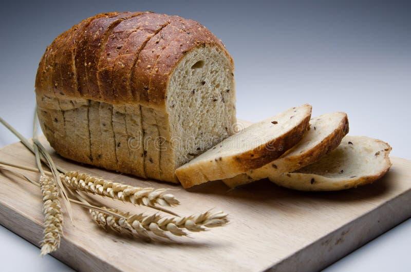 еда хлеба вся стоковое изображение