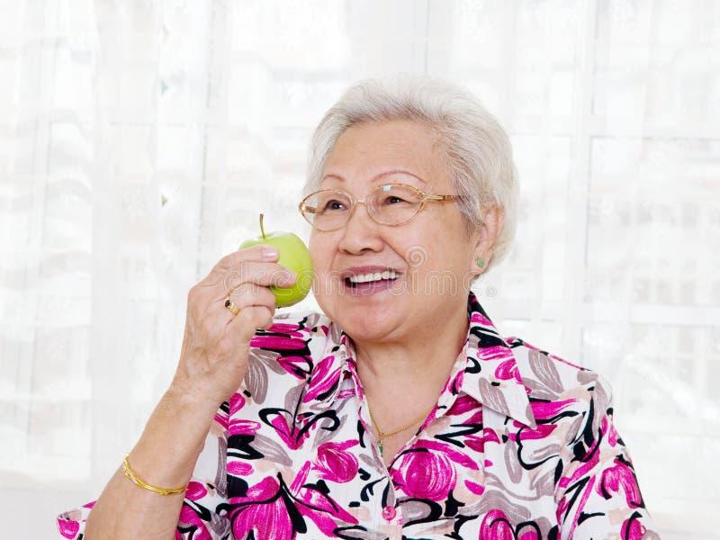 Еда яблока стоковое фото rf