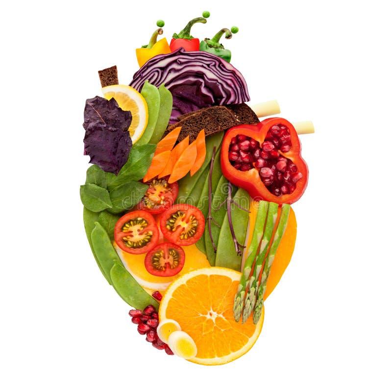 Еда для сердца. стоковое изображение