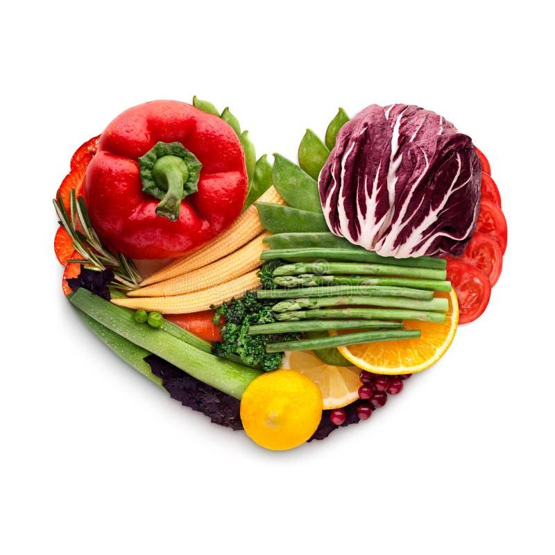 Еда для сердца стоковая фотография rf