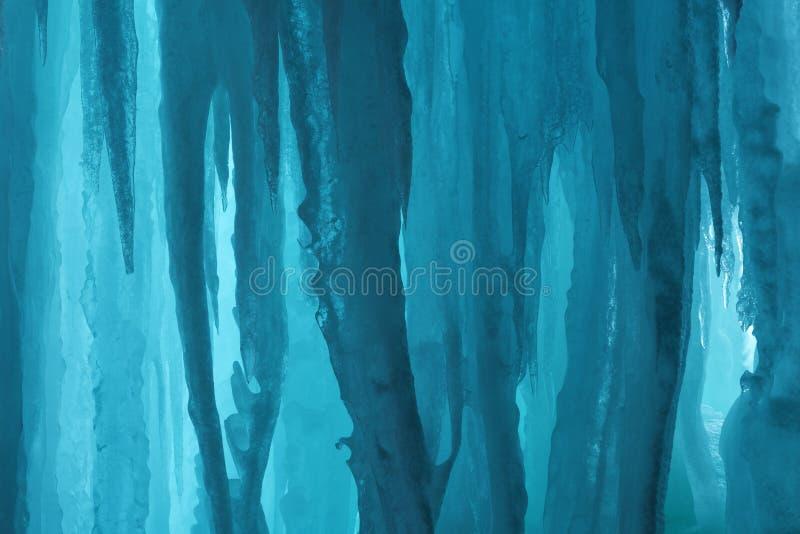 ледяной остров подземелья грандиозный стоковое фото