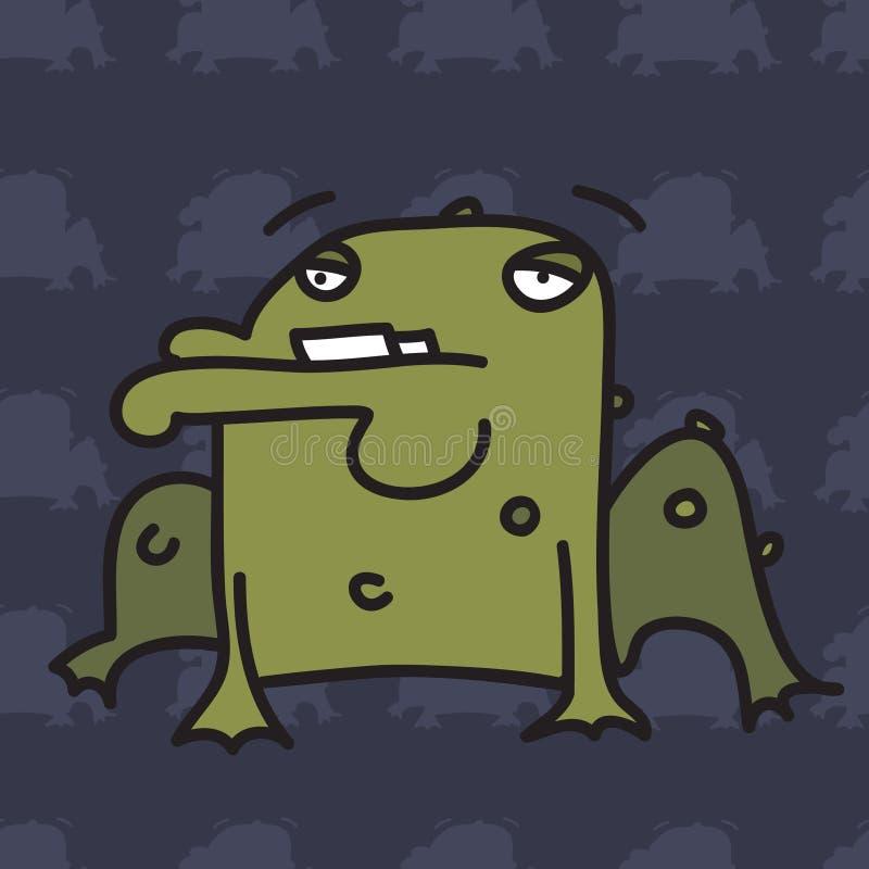 жаба иллюстрация штока